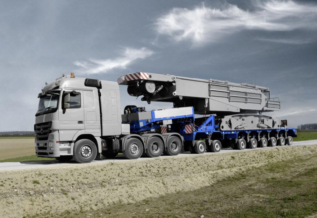 MICHELIN amplia la gama de neumáticos X Multi para transporte especial, portavehículos o construcción.