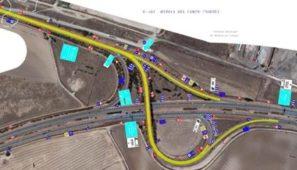 Cortes al tráfico en la A6, en el enlace E-161, por obras de mejora el 17 y 18 de junio.