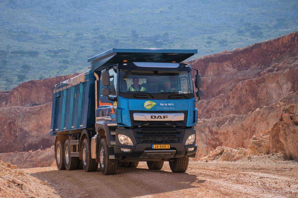 La serie DAF CF Construction ha ganado el premio Top Bau Truck.
