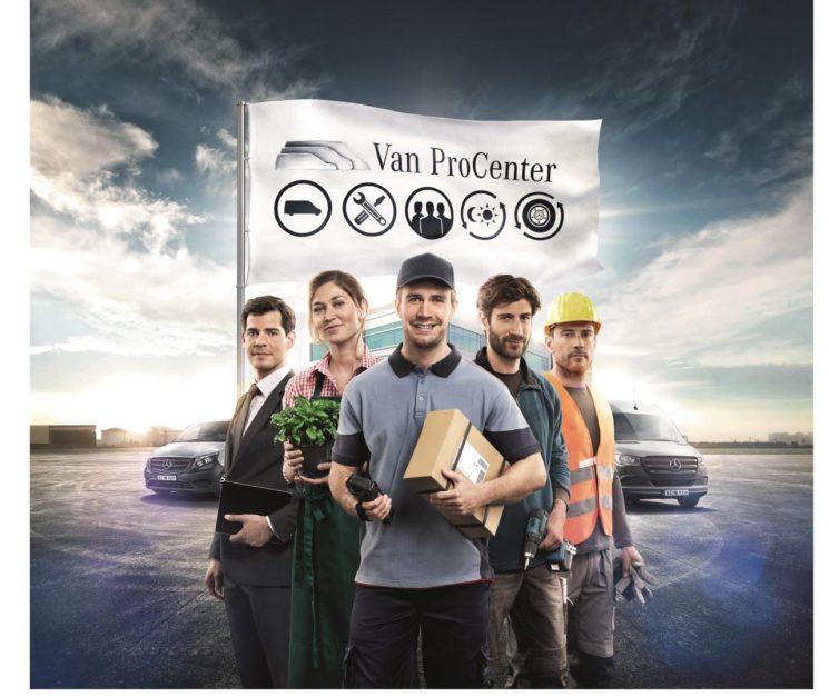 Los centros especializados en furgonetas Mercedes-Benz Van ProCenter cumplen seis años