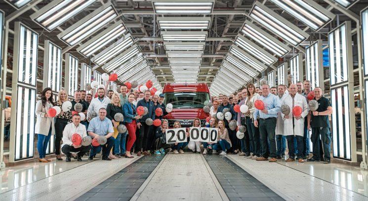 MAN produce la TGE 20.000 en poco más de dos años.