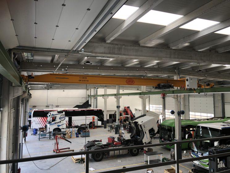 Volvo Trucks inaugura un nuevo taller oficial en Torrejón de Ardoz.