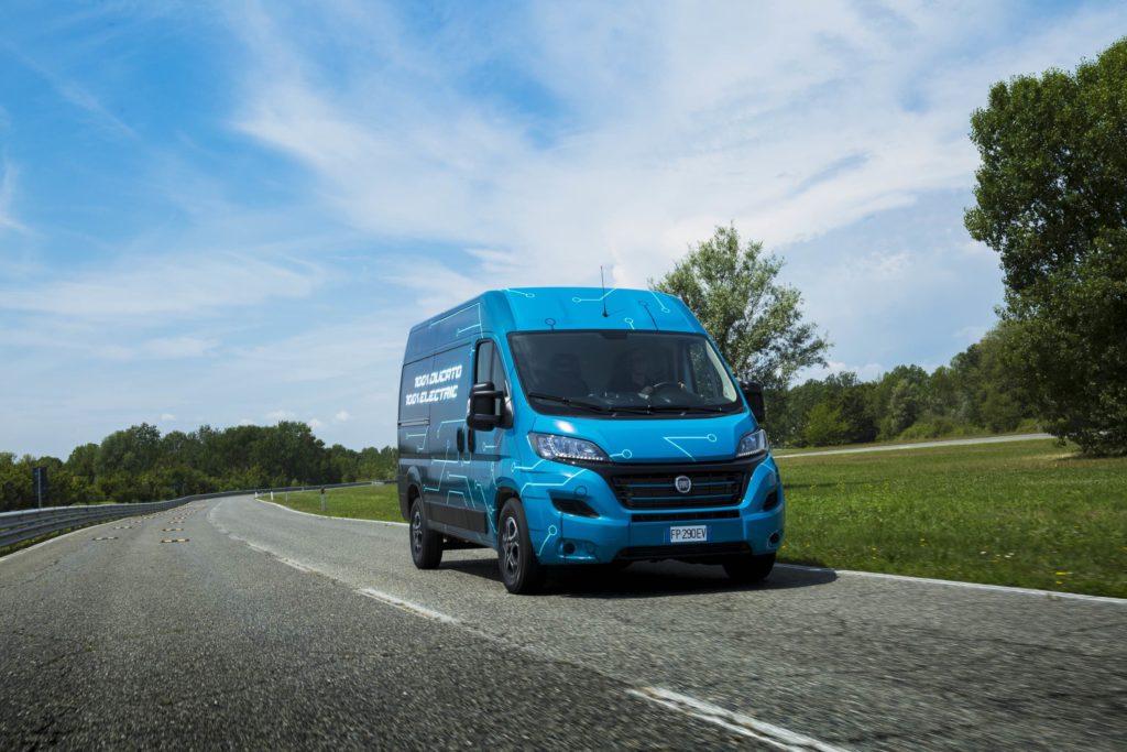 Llega la Fiat Ducato 100% eléctrica a lo largo de 2020 con autonomías entre 220 y 360 kilómetros (en ciclo NEDC)