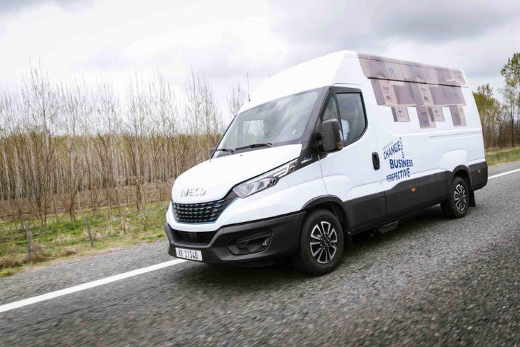 La Iveco Daily de gas natural reduce un 20% los costes del vehículo con relación a una Daily diésel.