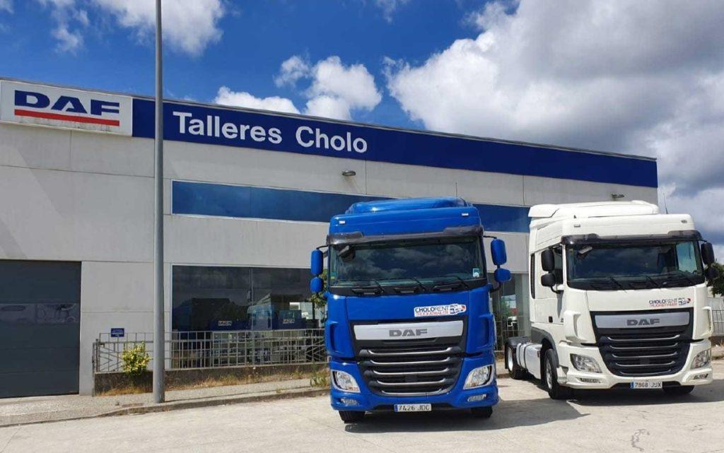 Talleres Cholo, concesionario DAF en Santiago de Compostela, inaugura la actividad de alquiler de vehículos con Cholo Rent.