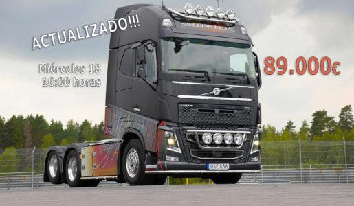 Volvo Trucks subasta el Swedish Metal