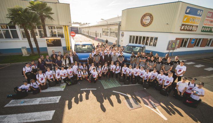 Iveco ha renovado el patrocinio al equipo de baloncesto El Carramimbre Ciudad de Valladolid.