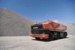 Camión autónomo sin cabina Scania AXL