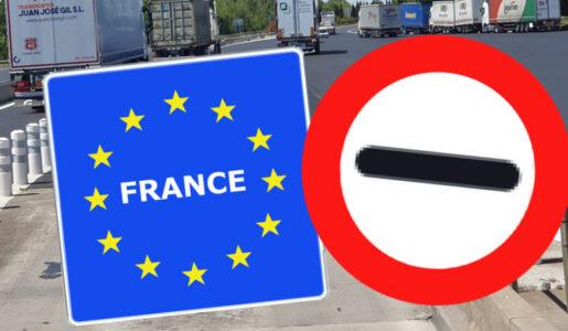 Francia exige un justificante de desplazamiento durante el toque de queda para el transporte de mercancías