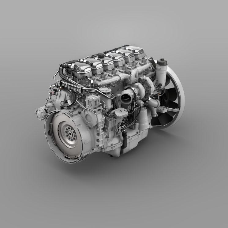 Scania incrementa la familia del motor de 13 litros con una nueva potencia de 540 CV.