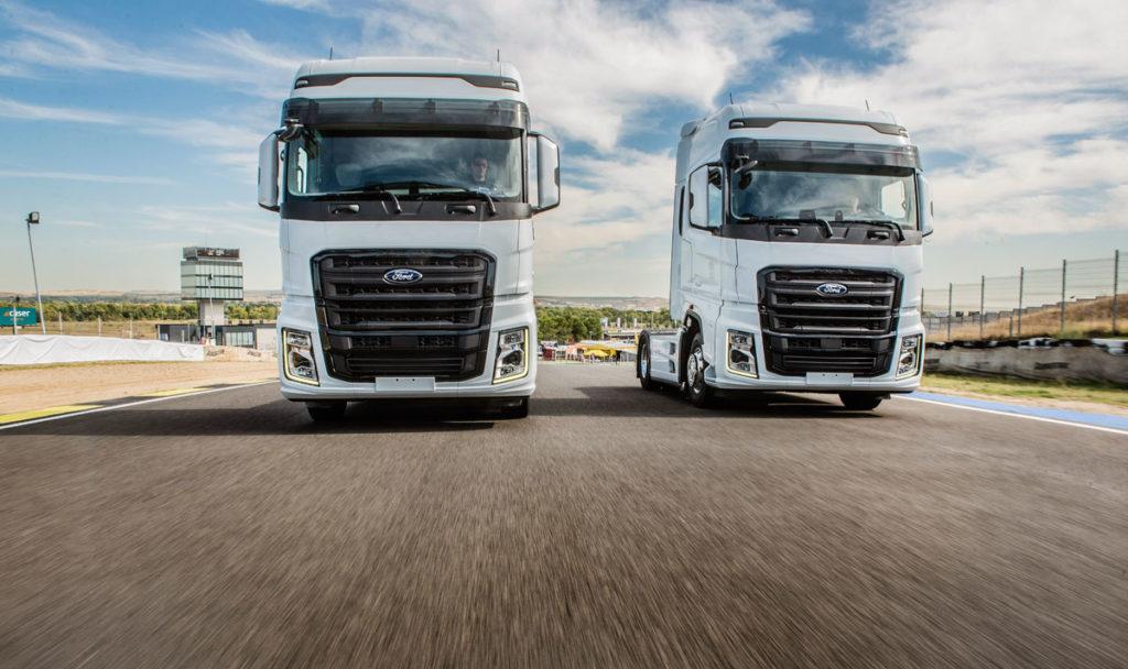 Ford Trucks ha iniciado la comercialización en Europa Occidenta en España y su presentación se ha hecho en El Jarama coincidiendo con las carreras de camiones.