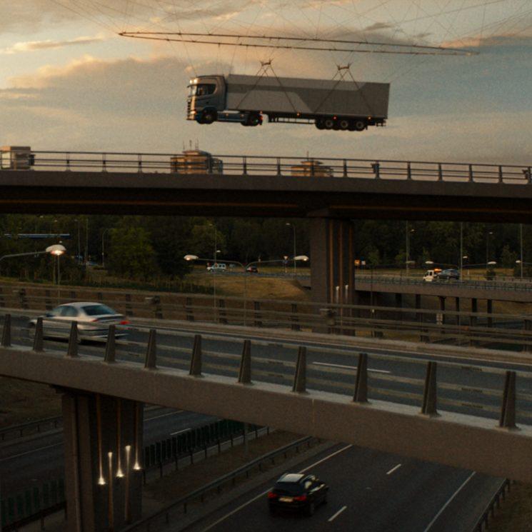 Scania ya trabaja en el transporte del futuro y por eso ha puesto en marcha su Future Room.