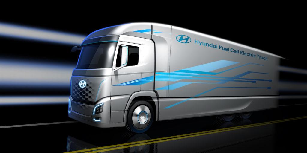 Hyundai entrega 1600 unidades del H2 X100 de pila de combustible a Suiza.