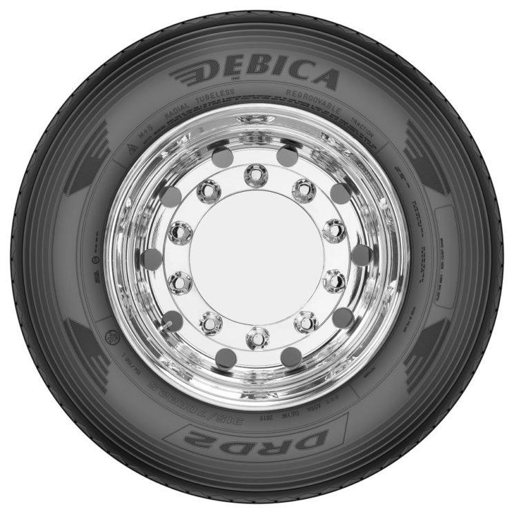 Goodyear renueva la gama de neumáticos de camión Debica.
