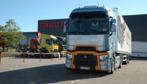 La final internacional del Optifuel Challenge se ha celebrado en las instalaciones de Renault Trucks de Lyon a bordo de un serie T High Euro 6 D 480 CV Model Year 2019
