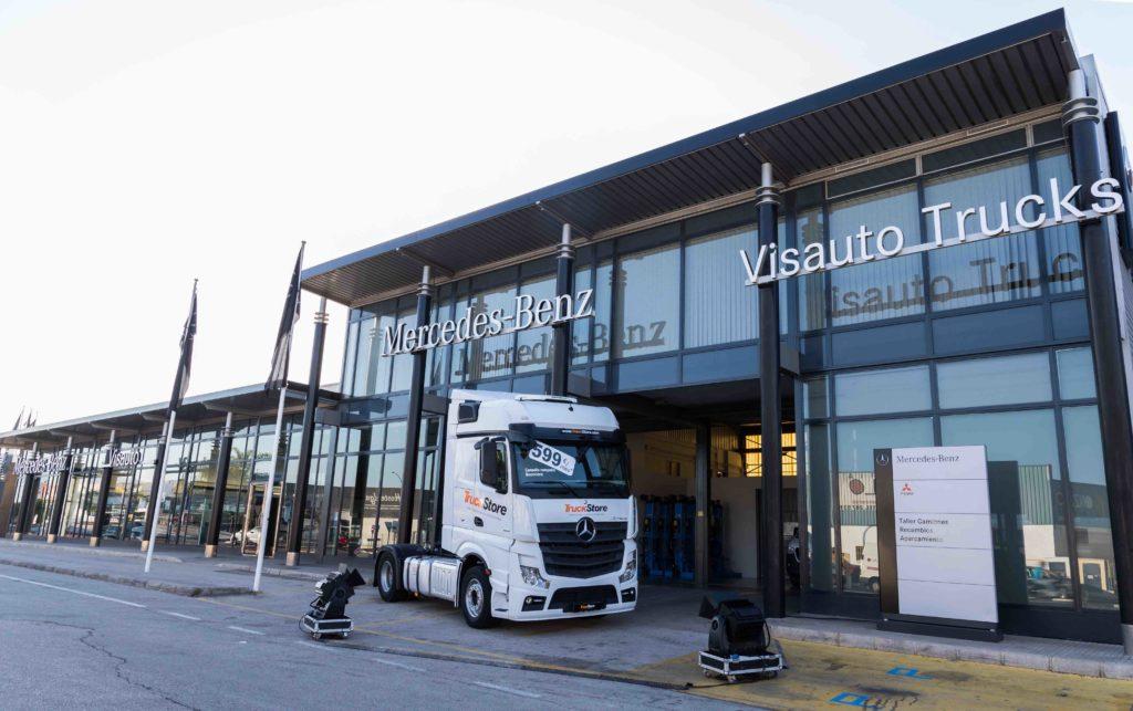Visauto Trucks es un nuevo centro de posventa de Mercedes-Benz en Real de Gandía (Valencia).