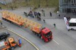 Multas  de 401 euros a los transportes especiales por el documento de control