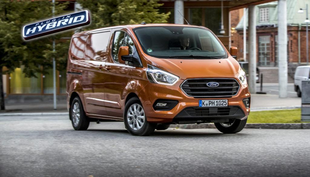 Ford presenta la nueva Fors Transit Custom PHEV con etiqueta Cero de la DGT.