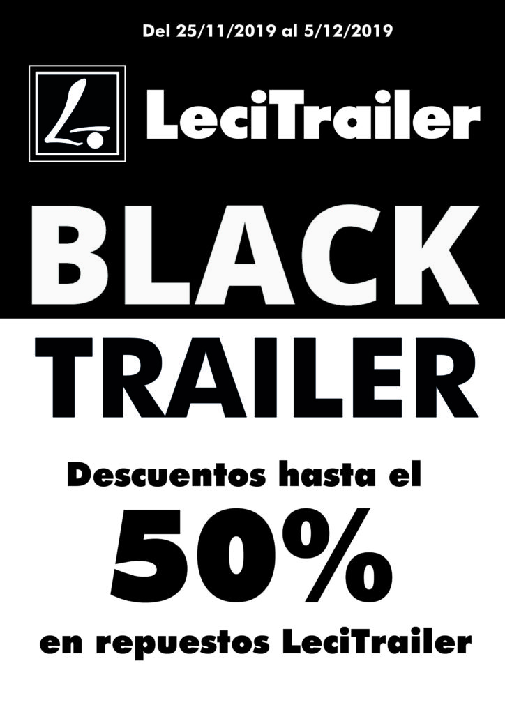 Lecitrailer se suma al Black Friday con descuentos de hasta el 50% en una selección de piezas.