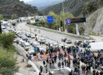 Los camiones de nuevo rehenes por la actitud pasiva de la Generalitat