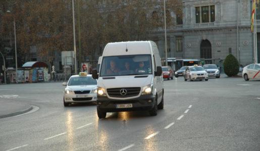 Las furgonetas un problema para la seguridad vial