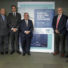 Julio Villaescusa, presidente de FENADISMER, y los representantes del resto de organizaciones empresariales de transporte de mercancías y viajeros han firmado una Declaración conjunto a favor de un transporte sostenible