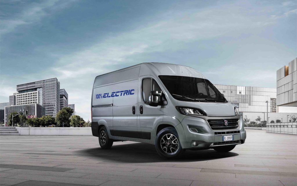 La Ducato 100% eléctrica llegará en 2020 a los concesionarios de Fiat Professional.