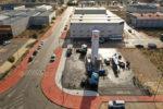 Monegas inaugura la primera gasinera de Albacete
