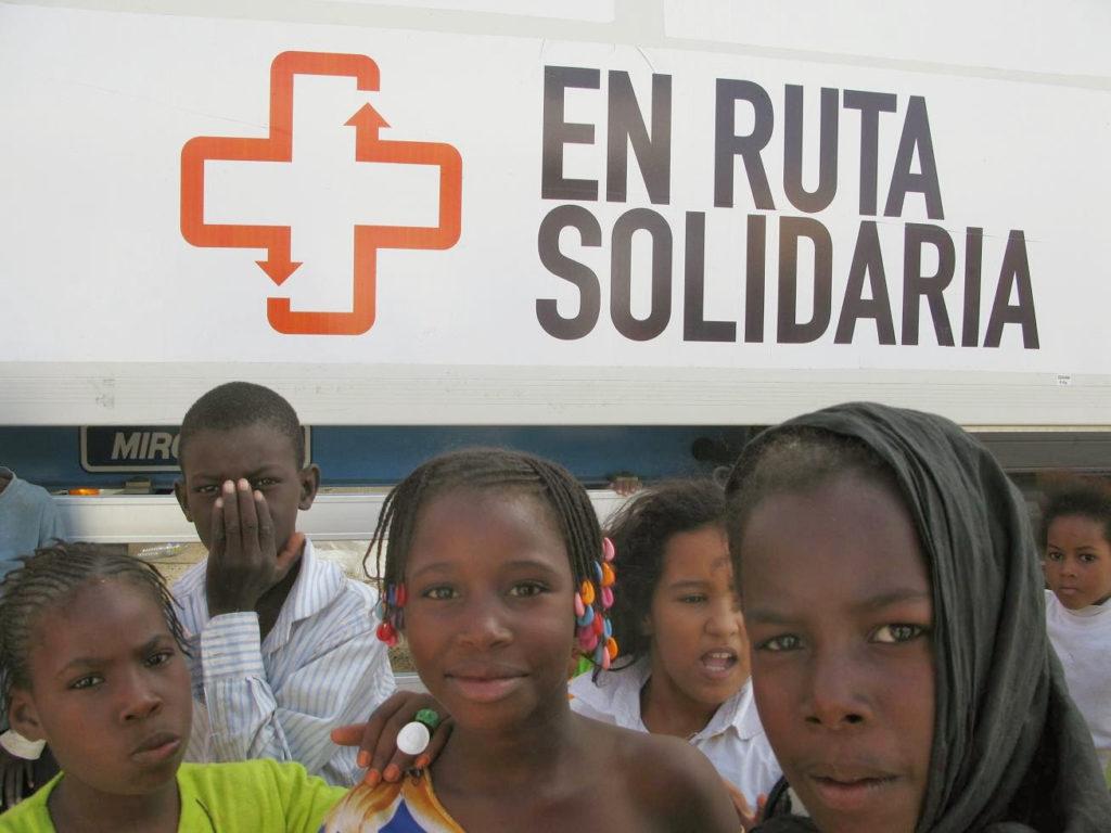 Scania colabora con la ONG En Ruta Solidaria por quinto año consecutivo para recaudar alimentos y dinero para las poblaciones desfavorecidas de Mauritania.