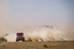 Dakar 2020 camiones. Etapa 9: jornada de transición