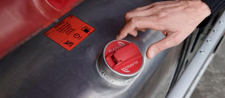 Scania lanza una nueva alarma de robo de combustible para camiones.
