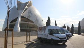 La caravana de la Daily llega a Valencia para poder ser probada por los clientes valencianos.