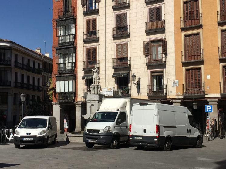 Desde el 1 de enero las furgonetas sin distintivo no pueden acceder a Madrid Central.