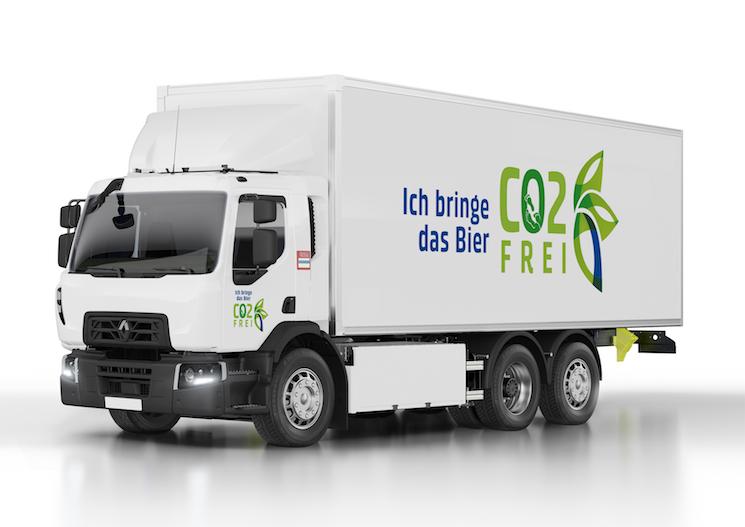 Renault Trucks va a proporcionar 20 D Wide ZE a Carlsberg para las operaciones de distribución de la filial suiza de la cervecera.