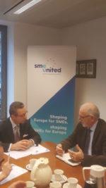 FENADISMER busca en Bruselas potenciar medidas que apoyen a los autónomos y pymes en Europa