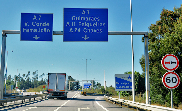 Portugal amplía las exenciones de los tiempos de conducción hasta el 31 de mayo.