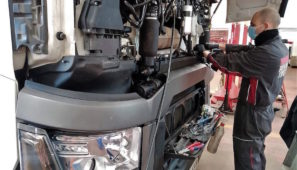 Renault Trucks mantiene abierta su red para los transportistas