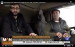 Reportaje sobre transporte y entrevista a Julio Villaescusa en TVE