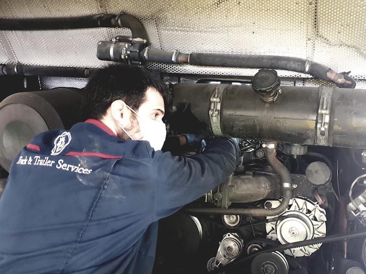Scania garantiza el servicio a sus clientes durante el coronavirus.