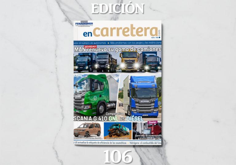 Revista Fenadismer enCarretera. Edición 106
