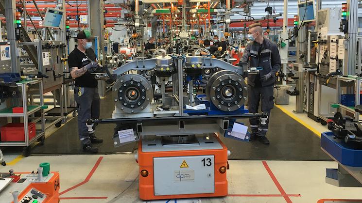 MAN Truck&Bus reinicia la actividad en sus plantas de forma gradual a partir del 27 de abril tras la parada de la producción a mediados de marzo por la crisis sanitaria del coronavirus.