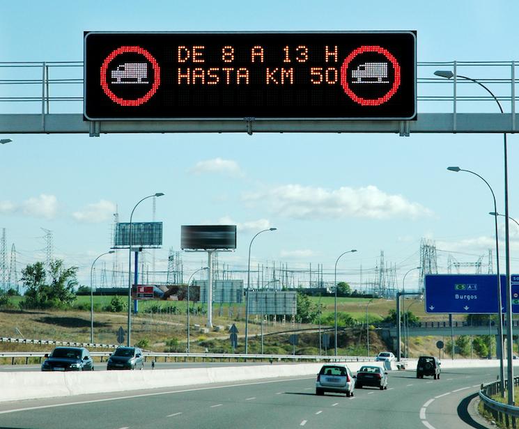 El País Vasco levanta las restricciones a la circulación de camiones el puente de San José y en Semana Santa.