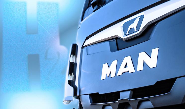 El prototipo de MAN va a montar unos depósitos de hidrógeno de menos presión, más económicos, pero menos rango de autonomía.