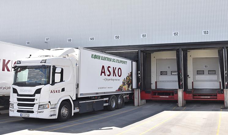Camiones eléctricos Scania de ASKO