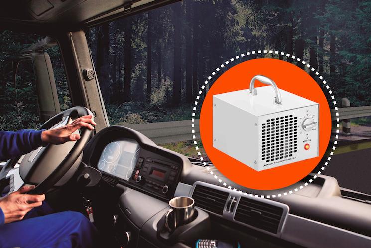 Andamur ofrece un servicio gratuito de desinfección del interior de la cabina con ozono.