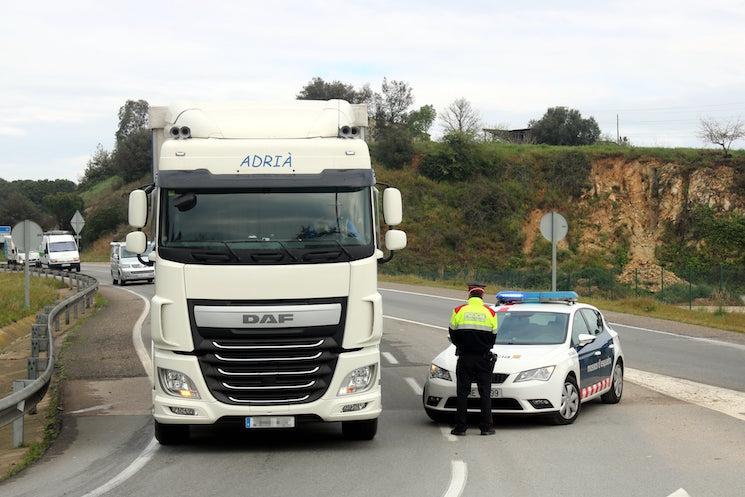 La Generalitat confirma que el transporte puede circular sin restricciones a pesar del confinamiento en el área de Lleida.