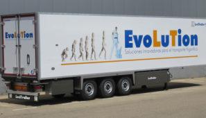 Lecitrailer lanza su nueva gama de semirremolques frigoríficos a la que ha denominado Evolution. Más robusta, duradera, flexible y económica que la gama a la que sustituye.
