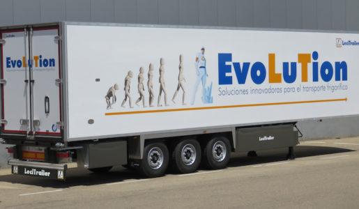 Evolution es la nueva gama frigorífica de Lecitrailer