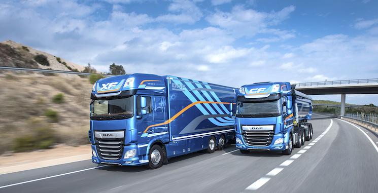 Campaña de mantenimiento DAF para camiones XF y CF euro 4, 5 y 6.