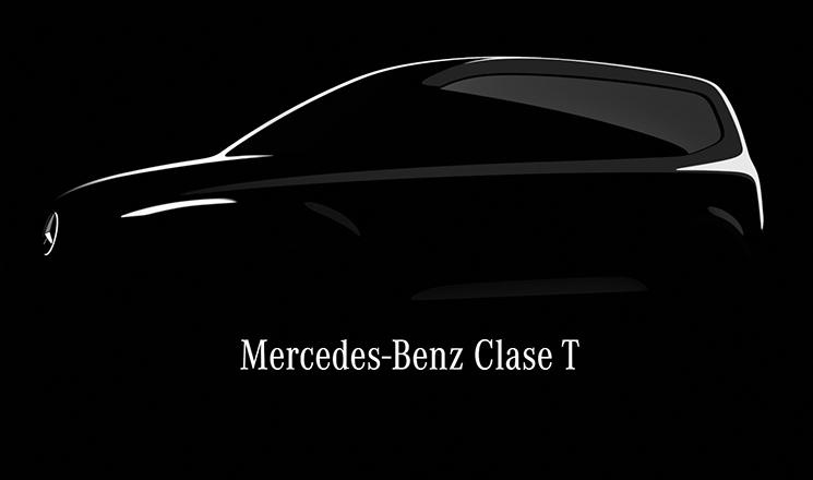 La versión de pasajeros de la Mercedes-Benz Citan se llamará Clase T
